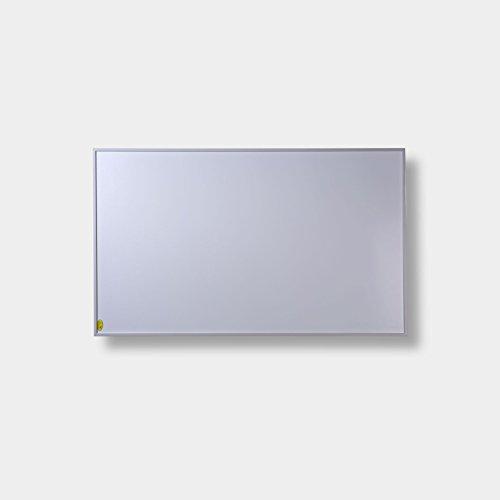 FERN INFRAROTHEIZUNG (neueste Technologie) PREMIUM-Edition 600W Heizpanele auf Carbon Crystal Basis mit höchsten Sicherheitsstandards (CE, ROHS), 50 Jahre/100.000Std Lebensdauer und 99{8f755d2b62538c14dd4dc4af8da02207e1c125cf1f2089d167626b5c40e768a4} Heizübertragung inkl. Deckenbefestigungsmaterial (Weiß)