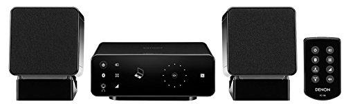 Denon Ceol Carino - Microcadena (Bluetooth, aptX, NFC, 25 W), color negro