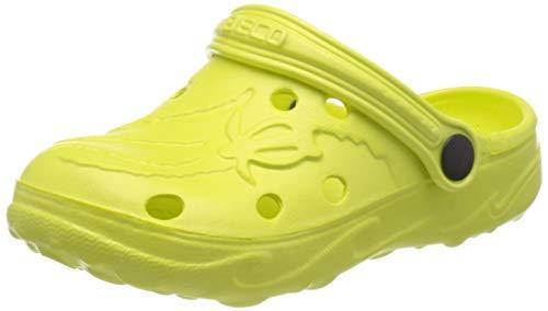 BECO Kinderclogs / Badeschuhe Schildi lemon 26