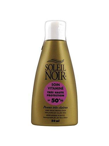 Soleil Noir - Soleil Noir Soin Vitamine Indice 50+ Creme Solaire 50ml - Unique
