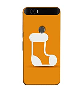 Fuson socks designer pattern theme Designer Back Case Cover forHuawei Nexus 6P :: Huawei Google Nexus 6P -3DQ-1261