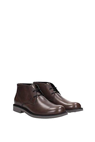 XXM0WZ00D80BRXS810 Tod's Chaussure montante Homme Cuir Marron clair Marron Clair