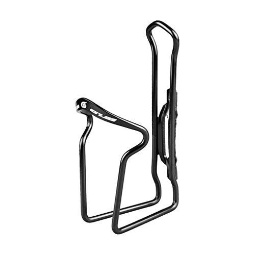 Felicy Aluminiumlegierung Fahrrad Flaschenhalter für Outdoor Sports Radfahren Fahrrad (Schwarz)