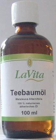 Teebaumöl 100% naturrein ätherisches Öl