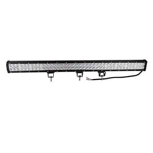 Auxtings Barra luminosa antinebbia o caso di diluvio, 234W, a LED, funziona quando la macchina è in corsa, per fuoristrada, SUV o veicoli 4x4