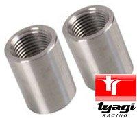 Gewindeeinsatz Ventileinsatz Adapter Rechtsseitig Gewinde M20 X 1.5 mm Röhre Rohr Adapter Männlich Baustahl Packung von 2 Tyagi Racing