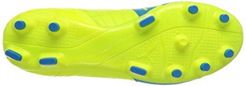 Puma evoSPEED 3.4 Lth FG Herren Fußballschuhe Gelb (safety yellow-atomic blue-white 04)