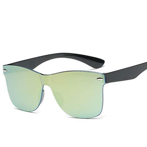 YUHANGH Erwachsene Mode Spiegel Sonnenbrille Frauen Männer Großhandel Mode Farbe Sonnenbrille Männliche Frau De Sol