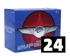 Nike Super Far Distance Golfbälle 24er Pack Weiß
