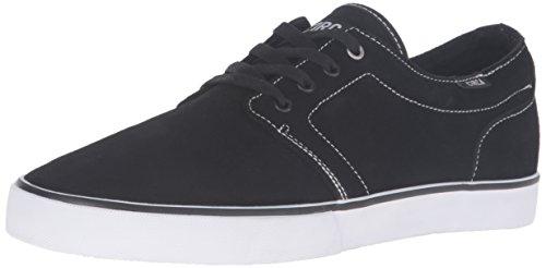 C1RCA DRIFTER CDRFPALO Unisex-Erwachsene Sneaker Schwarz / Weiß