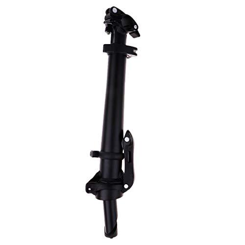Lenkervorbau 25,4mm verstellbar Faltrad Klapprad Fahrrad Lenker Vorbau aus Aluminium - Schwarz