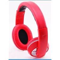 Stile classico Over-Head-Cuffie Stereo, Auricolari con microfono Wireless per Verizon Ellipsis Ellipsis 7/8 MYNETDEALS pennino, colore: rosso