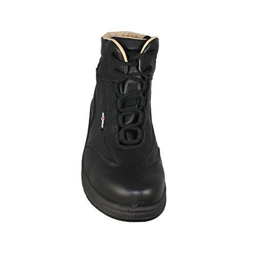 Aimont zaffiro s2 chaussures berufsschuhe businessschuhe sRC chaussures de trekking (noir) Noir - Noir