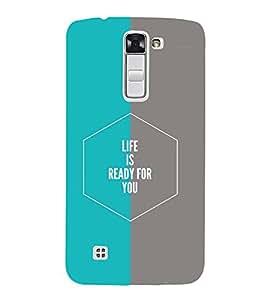 PrintVisa Designer Back Case Cover for LG K10 :: LG K10 Dual SIM :: LG K10 K420N K430DS K430DSF K430DSY (Quote Love Heart Messages Crazy Express Sorry )