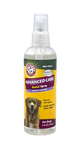 Company of Animals Arm & Hammer Advanced Care Tartar Control Dental Spray – Spearmint Flavoured, 118ml