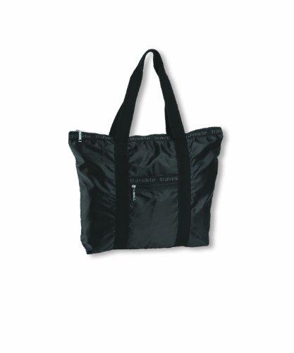 Travelite Falt-Shopper MiniMax, schwarz, 38x38x12 cm, 16 Liter (Falt-shopper)