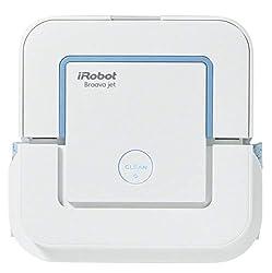 iRobot Braava jet 240 Wischroboter (spritzt Wasser, 3 in 1, der Gute für Badezimmer und Küchen)