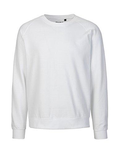 -Neutral- Sweatshirt, 100% Bio-Baumwolle. Fairtrade, Oeko-Tex und Ecolabel zertifiziert Weiß
