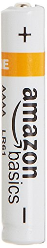 AmazonBasics - Pile alcaline AAAA, confezione da 4
