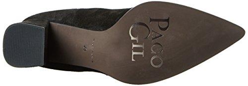 Gil P3166 haute Paco Noir femme Botte Noir RdfUwFq