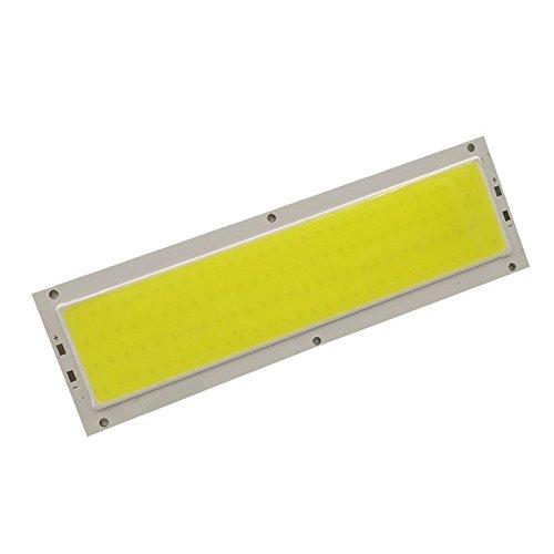 TiooDre 10W COB panneau de bande LED Light Lamp Chip 120 * 36MM 12V-24V 1000lm Cool White