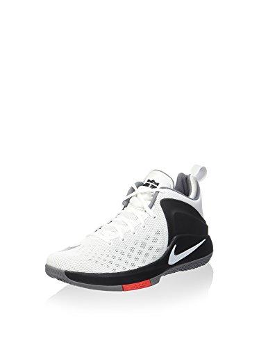 Nike 852439-100, Scarpe da Basket Uomo Bianco