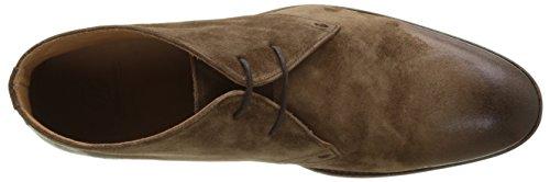 Atelier Voisin Men Taner Short Boots (daim Tabac)