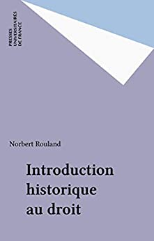 Introduction historique au droit (Droit Fondamental)