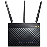 Router – Asus RT-AC68UF – Router Wireless Dual Band WLAN AC1900 (AC1300 + N600) + 4 LAN Ports 10/100/1000 Mbps