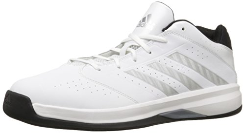 Adidas Isolation 2 Low Hommes Cuir Baskets Ftwwhite- Silvmt- Cblack