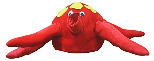 Petitebelle Red Octopus Hat Ocean Animal Costume for Unisex Children (One (Kostüm Kinder Tintenfisch Für)