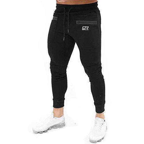 LuckyGirls Jogging para Hombre Pants Pantalones Deportivos Hombres Joggers Largos Skinny Chándales