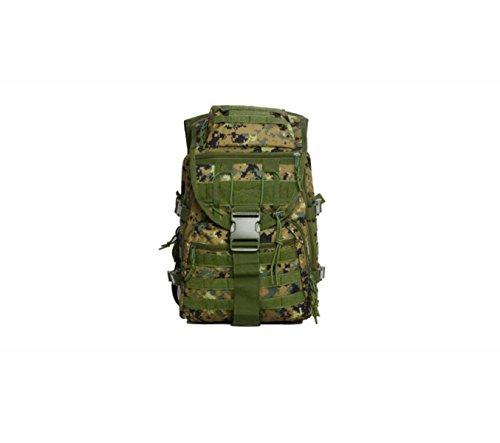 40L Militär Outdoor Tarnung Rucksack Wasserdicht Taktisch Bergsteigen Tasche camouflageE