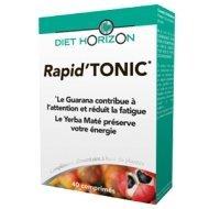 Diet horizon - Rapid'tonic - 40 comprimés - Pour combattre tous types de fatigue