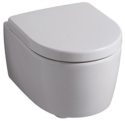 Keramag 574130000 WC-Sitz iCon, mit Deckel Scharniere: Metall, Absenkauto, weiß
