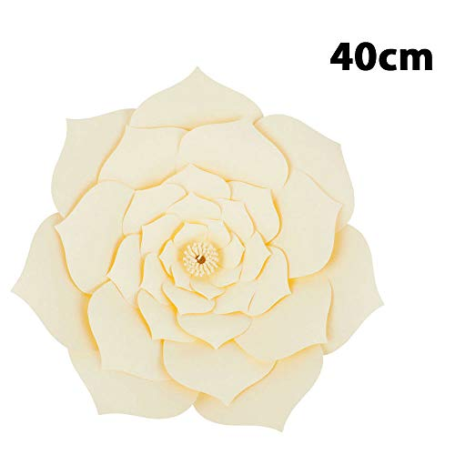 Gulin Papier Blumen Hintergrund, DIY handgemachte Blumen Hintergrund Dekoration, Hochzeit Rose Blume, Anzug für Geburtstag Home Party Decor