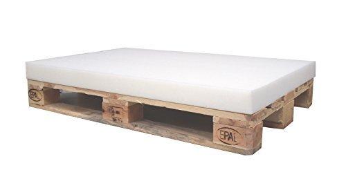 KiNDERWELT 1 x Schaumstoff Polster Schaumstoffplatte Schaum für Euro-Palette 120 x 80 x 8 cm Ohne Palette