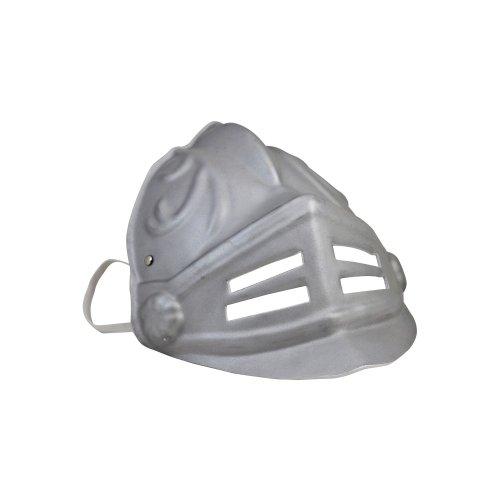LIONTOUCH 1732 Soft Line Ritter Gladiator Maske Silber, silber (1 (Gladiator Maske)
