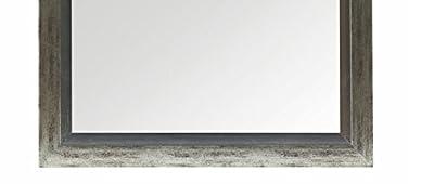 Wandspiegel GRETA 50x130 cm Beton Optik Spiegel Facette silber Schminkspiegel