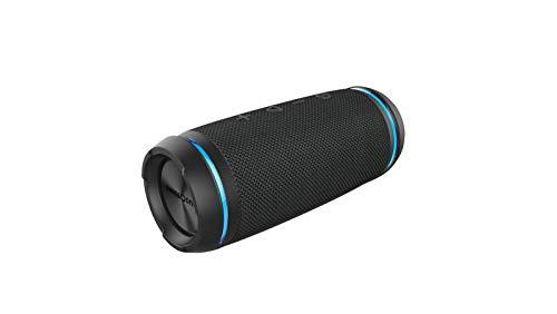 swisstone BX 520 TWS Bluetooth Lautsprecher (Wasserdicht nach IPX6 Standard, Freisprechfunktion, True Wireless Stereo, X-Bass Technologie) dark grey - 520 Bluetooth