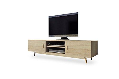 TV - mueble Lowboard Rivano II (roble)