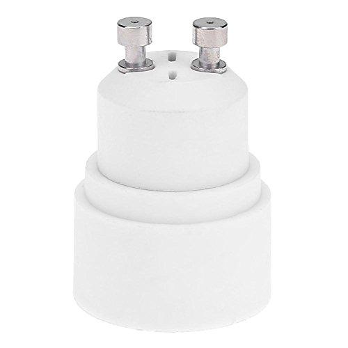 Demiawaking 5 pcs GU10 vers E14 adaptateur Base Support de lampe Socket convertisseur résistant à la chaleur