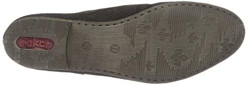 Rieker 51915, Chaussures À Lacets Pour Femme Noir (noir / 00)