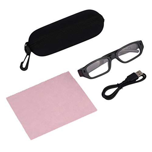Noradtjcca Mini Portable HD Brille Kamera Brillen Digital DVR Video Recorder Kamera TG13X 720P Für Outdoor-Sport Zubehör Digital Portable Dvr