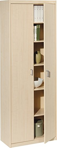Ahorn Türen (CS Schmalmöbel 10/72 Hochschrank 72 Soft Plus Ahorn (72x194x36))