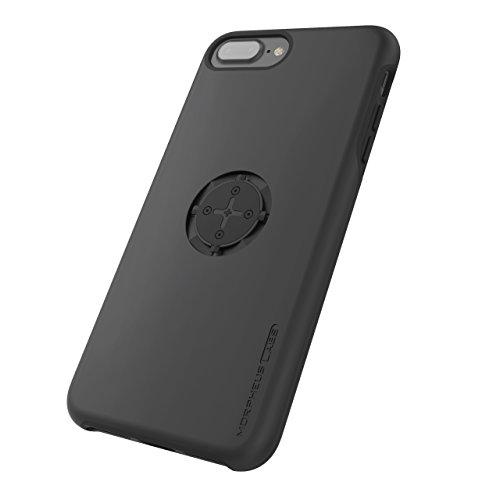 MORPHEUS LABS M4s Case für Apple iPhone 8 Plus / 7 Plus, Schutzhülle für iPhone 7 Plus / 8 Plus, Hülle passend für alle M4s Halterungen / Mount, patentierter magnetischer Schnell-Verschluss, schwarz