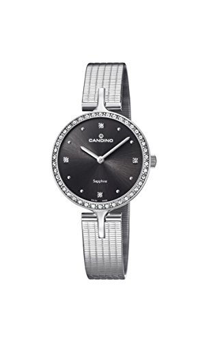 Candino Womens Analogue Classic Quartz Watch with Stainless Steel Strap C4646/2