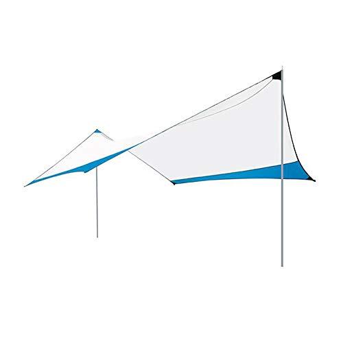 Campingzelt Markise, 100% wasserdicht, Ultraleicht, UV-Schutz Sonnenschutz für Wandern, Hängematte, Rucksackreisen, Picknick