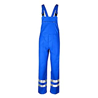 Asatex TECLHMR01 Chemical Protection Bib Trousers, Blue, Size 28