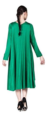 Hüseyin Kücük - Robe - Pull - Femme Vert